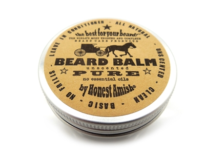 Honest Amish - Beard Balm, Beard Care products  Makers of Fine